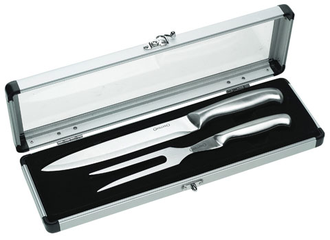 The Cyprus Bbq Store Grillpro Ss Carving Set With Case