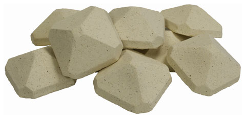 The Cyprus Bbq Store Pyramid Shaped Briquettes